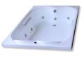 Banheira com Hidromassagem (Qualquer modelo na cor branca).