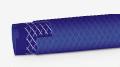 """Mangueira Trançada Colorida de PVC  - fabricadas com três camadas: intermediária de reforço de fibra têxtil de poliéster e externa de PVC """"premium"""". Estão disponíveis nas cores turquesa, granada, amarelo e zafira."""