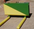 Transportador de Fardos Plastificados, foi projetado e construído com materiais que mantém a integridade dos fardos.