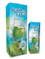 Água de coco Marathon é pura água de coco 100 natural extraída de cocos verdes frescos, com elevado padrão de qualidade.
