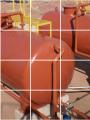 Reservatório cilíndrico horizontal são reservatórios cilíndricos e instalados na horizontal para média e pequena capacidade, abaixo de 200m³.