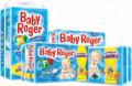 Fraldas Infantis Baby Roger