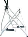 Simulador de caminhadas - um aparelho com sistema de suspensão independente, super moderno que proporciona exercícios físicos de baixo impacto, evitando lesões musculares, principalmente nos joelhos.