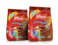 Achocolatado em pó LA NUTRE é fonte de 11 vitaminas e ferro, é instantâneo, fácil de dissolver, nutritivo e saboroso.