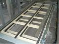 Transportador de Corrente metálica - recomendado para produtos metálicos, pesados, vidros ou com base irregular.