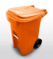 Contêineres de duas rodas são os mais utilizados no segmento de coleta de lixo e limpeza.