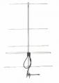 Antena direcional tipo Yagi, fabricada em liga especial de alumínio que lhe confere resistência mecânica e eficiência  eletrônica nas comunicações.