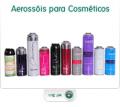 Embalagens para cosméticos.