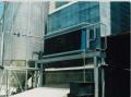 Sistema de secagem de grãos benecke, utiliza vapor como fluido de aquecimento e contém um sistema de automação para maior eficiência no processo de secagem do grão.