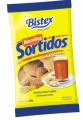 Biscoitos Sortidos - farinha de trigo fortificada com ferro e ácido fólico, açúcar, açúcar invertido, gordura vegetal, creme de milho, extrato de malte, sal, ovos em pó, fermentos químicos (INS 503ii e INS 500ii).