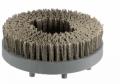 Escovas B - filamentos de nylon com carboneto de silício.