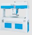 Balancim de corte - essa máquina é aplicável para cortar uma ou várias camadas de materiais, como couro, plastico, lona, nylon, placas de papel e materiais sintéticos.