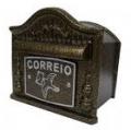 Caixa Colonial em Alumínio Fundido