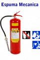 Extintores com carga de Espuma Mecanica, portateis e sobre rodas