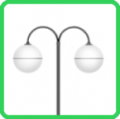 Luminária decorativa esférica SBD-102
