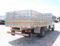 Carroceria carga seca grade alta