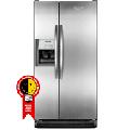 Refrigerador Side by Side BRS62AR Frost Free 600L com Dispenser Inox