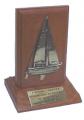 Placa sobre Base para Troféu