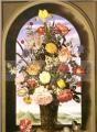 Ambrosius Bosschaert - Vaso de Flores na Janela