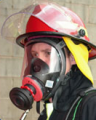Mascaras isoladas contra gases
