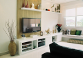 Home theater em formplast branco