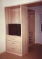 Estante para TV em Dormitório