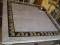 Tampo de mesa em marmores