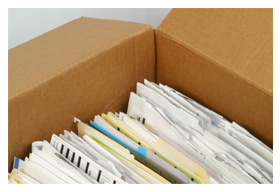 Order Storage of documents of the enterprises