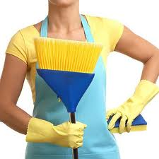 Encomenda Limpeza interna e externa.