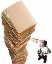 Encomenda Organização documentos