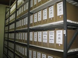 Encomenda Organização de arquivo
