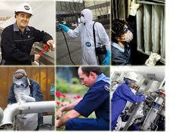 Encomenda Serviços de reparação, montagem, ajustamento do equipamento industrial