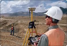 Encomenda Trabalhos de topografia e geodésia