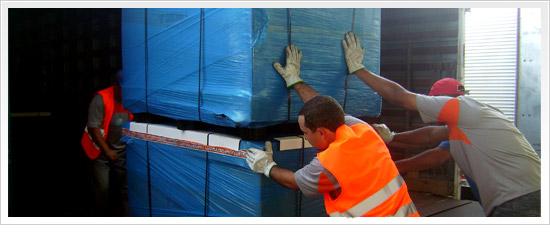 Encomenda Distribuição e Abastecimento Varejo.