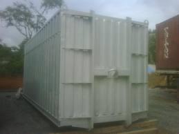 Encomenda Mapeamento de containers