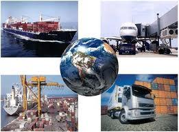 Encomenda Comércio internacional.