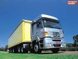 Encomenda Transportes de cargas internacionais
