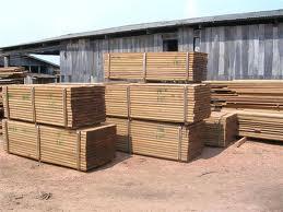 Encomenda Exportação de madeira serrada