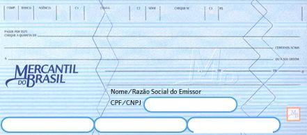 Encomenda Consultas de Cheques Mercantil do Brasil