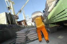 Encomenda Transporte de produtos de agricultura