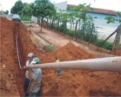 Encomenda Obras de Saneamento Básico