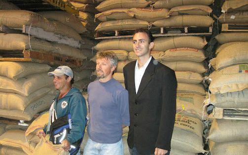 Encomenda Exportação cafe