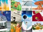 Encomenda Design de folheto, catálogo, agenda, e-cards.