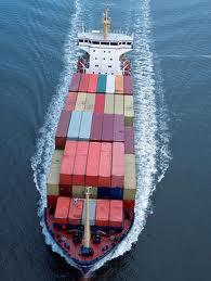 Encomenda Transporte de Carga marítima.