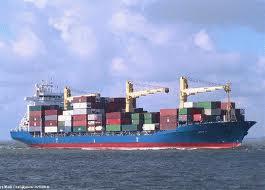 Encomenda Transporte internacional marítimo