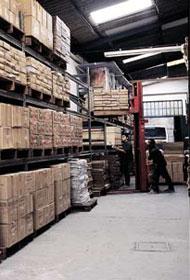 Encomenda Serviço de armazenagem