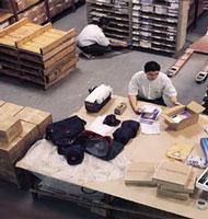 Encomenda Logistica de armazenagem