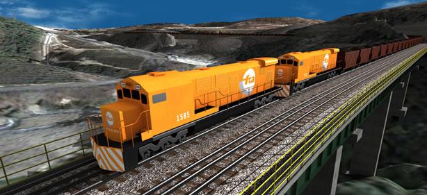 Encomenda Modernização da linha férrea