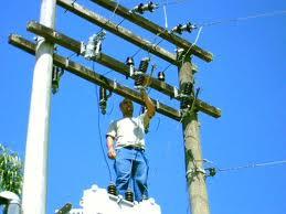 Encomenda Montagem de redes eletricas