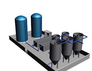Encomenda Projetos industriais